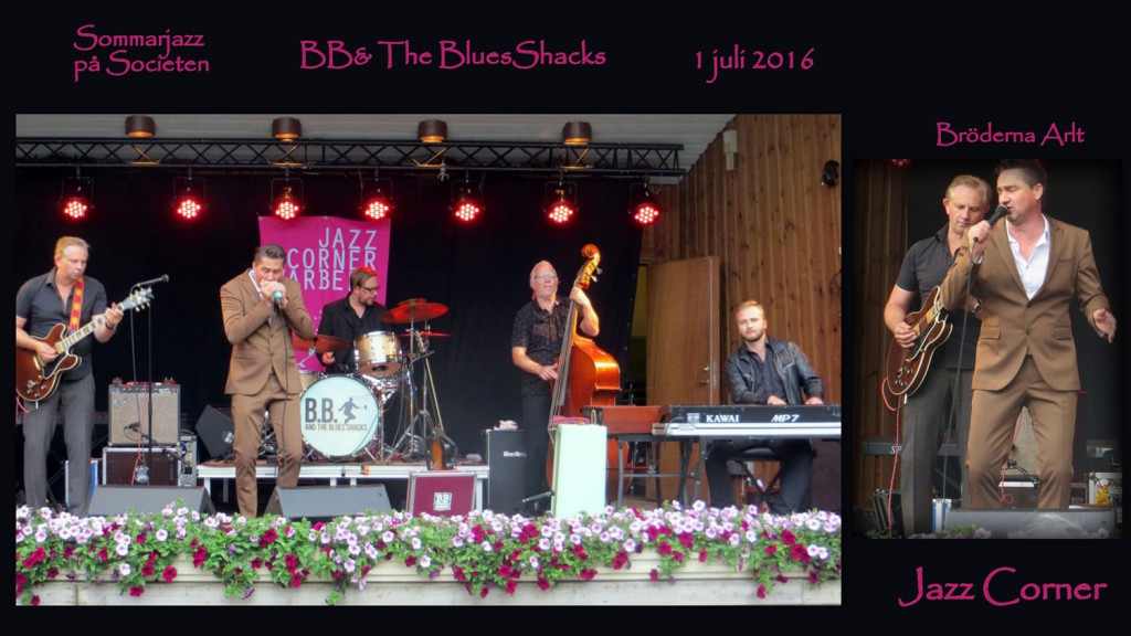 BB & The Blues Shacks sommarjazz 2016