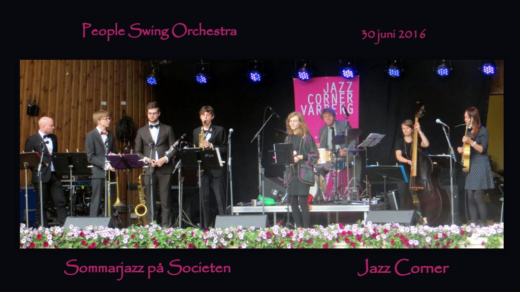 People Swing Orchestra sommarjazz 2016
